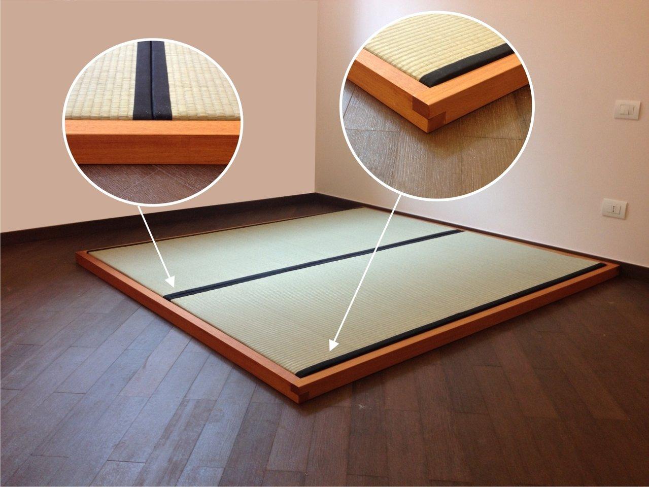 Strutture Letto In Legno Massello : Letto tatami in legno massello cm edojapan shop